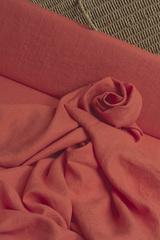 Лен смягчённый цвет МАКОВЫЙ