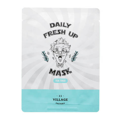 VILLAGE 11 FACTORY Daily Fresh up Mask Tea Tree маска с чайным деревом