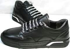 Черные кроссовки для девушек Rifelini by Rovigo 121-1 All Black