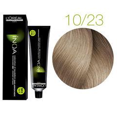 L'Oreal Professionnel INOA 10.23 (Очень очень светлый блондин перламутрово-золотистый) - Краска для волос