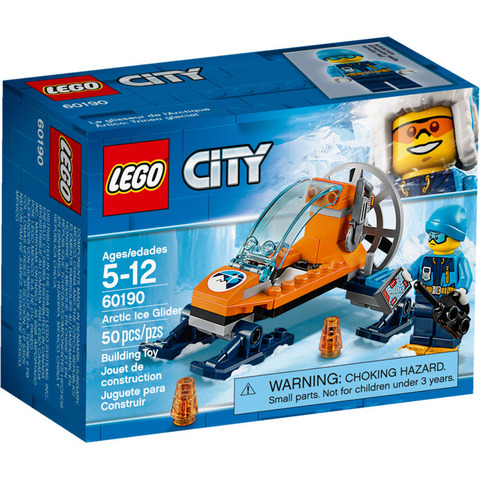 LEGO City: Арктическая экспедиция: Аэросани 60190 — Arctic Ice Glider — Лего Сити Город