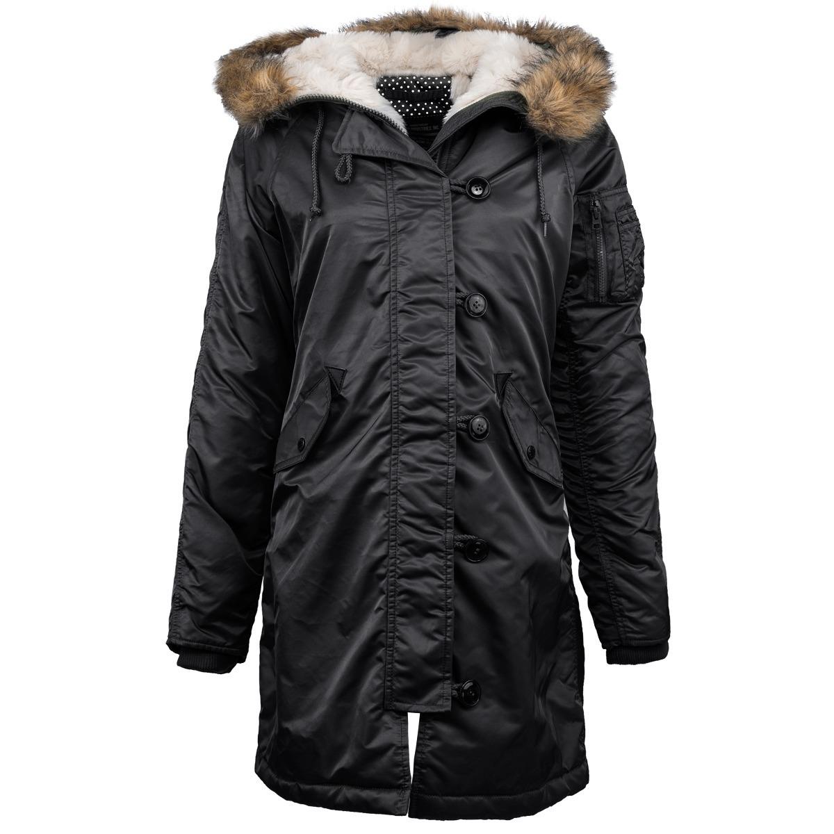 Куртка Аляска Женская - Elyse Parka 2015 (черная - black)