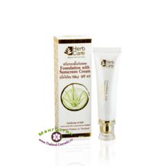 Солнцезащитный крем и основа под макияж SPF 60 PA+++, HerbCare