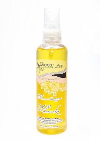 Масло-бальзам  Неженка для чувствительной кожи, детского массажа, снимает раздражение, шелушение, 100мл TMChocoLatte