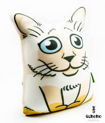 Подушка-игрушка антистресс «Гордый Сиам» 3