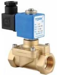 S881302125E Газовые клапаны (O2, H2) 0,5 ... 40 бар; NC; 38 12,5 мм; корпус из нержавеющей стали EPDSteel- латунь 24 В пост.