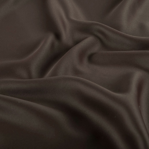 Портьерная ткань блэкаут коричневый. Арт. AF-207-01