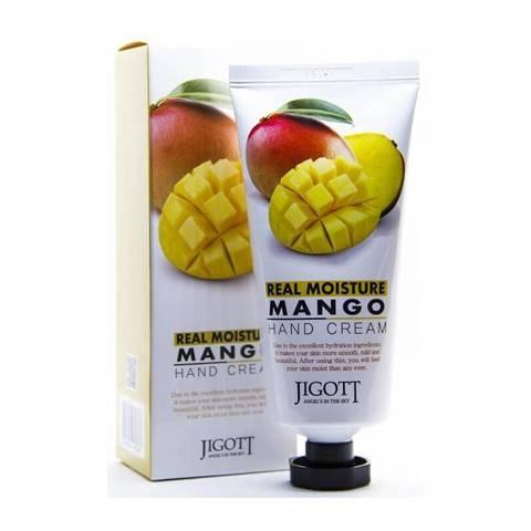 Крем для рук с экстрактом манго Jigott Real Moisture Mango 100 мл