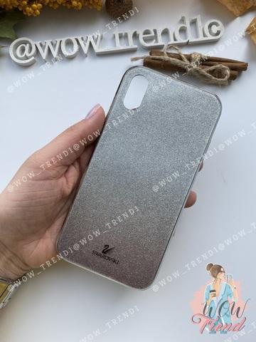 Чехол iPhone XR Swarovski Case /black/