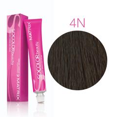 Matrix Socolor Beauty 4N шатен, стойкая крем-краска для волос