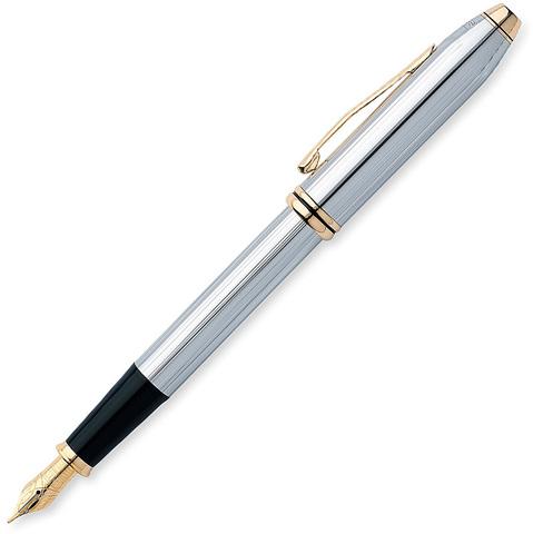Cross Townsend - Medalist, перьевая ручка, F, BL