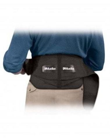 255 Lumbar Back Brace with Removable Pad Регулируемый корсет на поясничный отдел со съемной подушкой.Черный