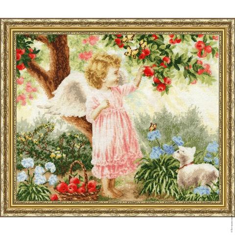 Размер: 34,9х42,9 см;¶Канва: Аида белая 16;¶Вышивается крестом в 2 нити;¶Количество цветов: 49;