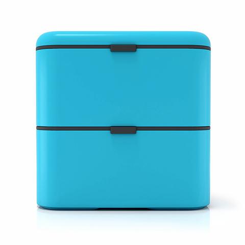 Ланчбокс Monbento Square (1,7 литра), голубой