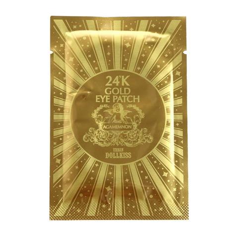 BAVIPHAT (URBAN DOLLKISS) 24K Gold Патч для глаз гидрогелевый с 24К золотом Urban Dollkiss Agamemnon 24K Gold Hydrogel Eye Patch 2,8гр