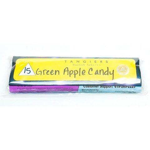 Табак для кальяна Tangiers Noir (желт) 15 Green Apple Candy 250 гр.