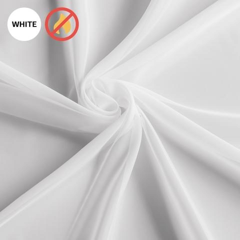 Ткань вуаль Левитан белый