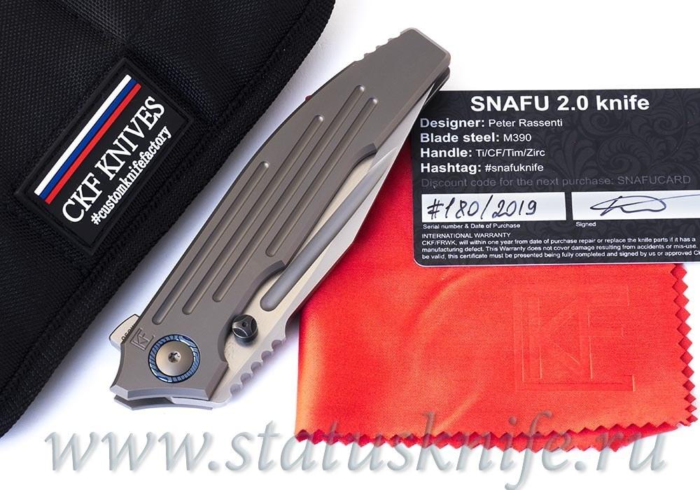 Нож CKF/Rassenti SNAFU 2.0 collab Снафу