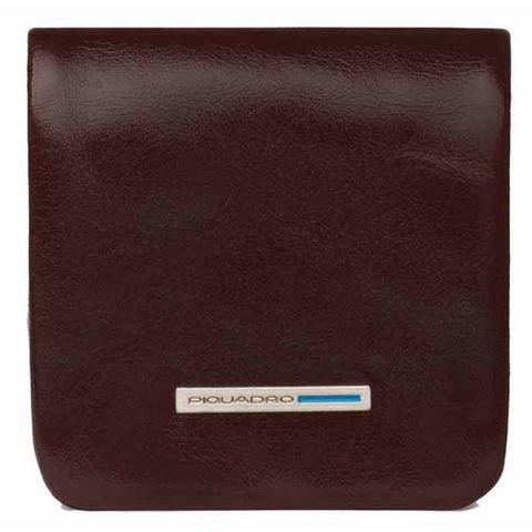 Монетница Piquadro Blue Square (PU2636B2/MO) коричневый кожа