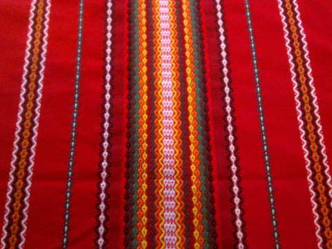 Традиционная болгарская скатерть 140х240
