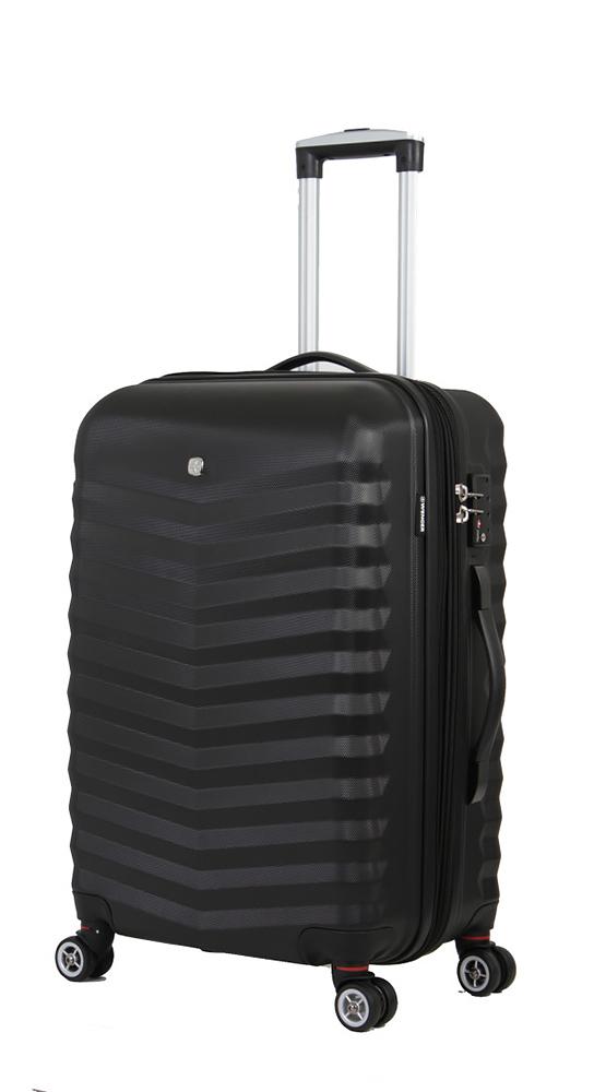 Чемодан WENGER FRIBOURG, цвет черный, 46x30x70 см, 97 л (SW32300277)