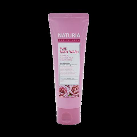 Гель для душа Evas Naturia Pure Body Wash Rose & Rosemary, 100мл