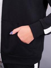 Люси. Спортивный костюм плюс сайз. Черный.