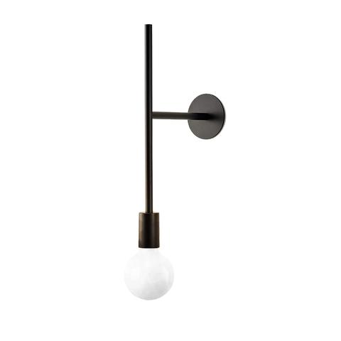 Настенный светильник копия Powered Wall Step by Volker Haug (черный)