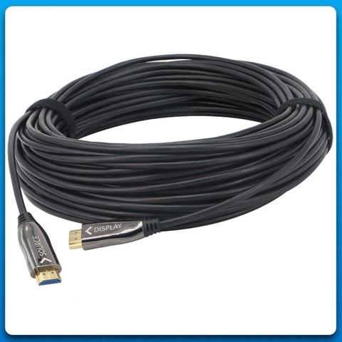 Кабель HDMI 100м ver. 2.0 оптический (100 метров, гибридный оптоволокно+медь)