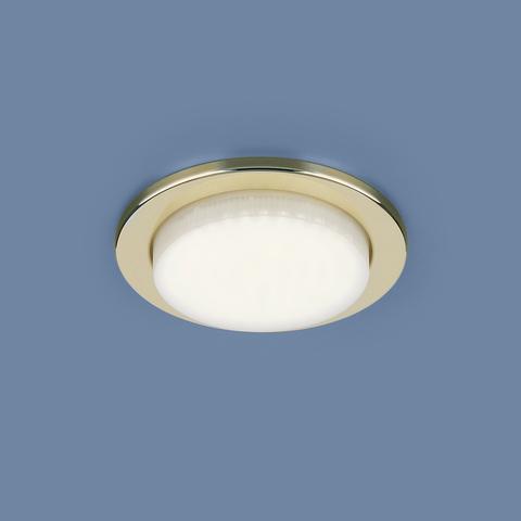Встраиваемый точечный светильник 1035 GX53 GD золото