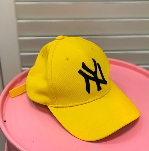 Бейсболка NY, желтый