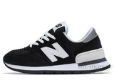 Кроссовки Женские New Balance 990 Black White