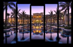 """Модульная картина """"Отель в Дубае"""""""