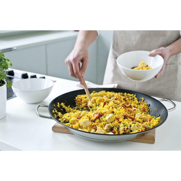 Сковорода для паэльи с рифленым дном (36 см)
