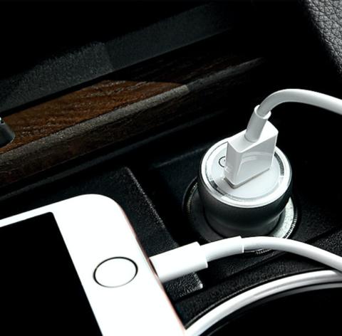 Купить автомобильную зарядку Hoco Z4