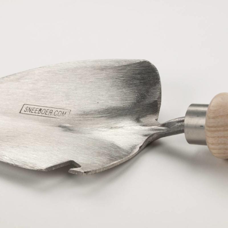 """Пересадочный совок Sneeboer """"Лепесток"""" с открывашкой и рукояткой из ясеня"""
