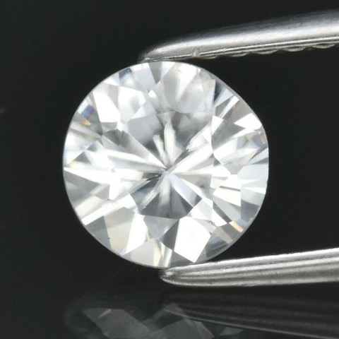 Циркон 1,12 карата круг 6 мм ВИДЕО