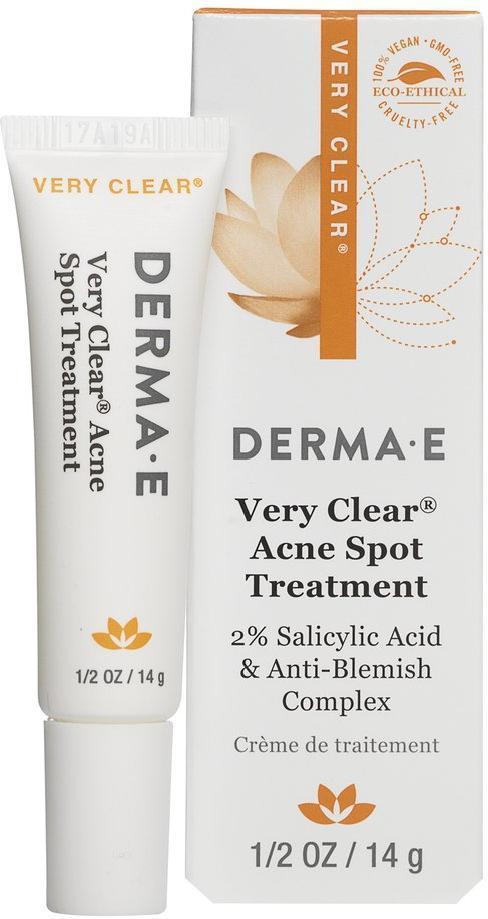 Точечное средство для проблемной кожи Derma E с 2% салициловой кислотой 14 гр
