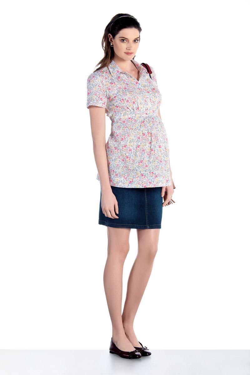 Рубашка для беременных 07433 белый