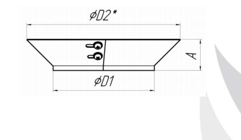 Воротник TMF Ø215, 0,5мм