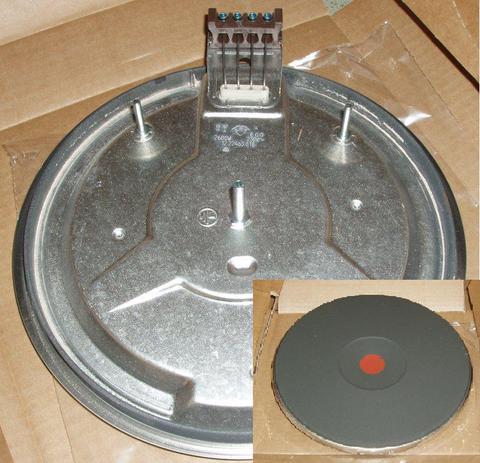Электроконфорка EGO чугуная Италия D=220mm 2600Watt (экспресс) - 481925998507, 12.22463.018