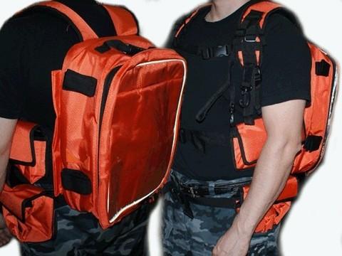 Рюкзак термо. Размер 43х17х30 см. Лямки рюкзака дополнительно усилены, также имеется крепление для фиксации рюкзака на поясе. Дополнительно имеется 4 сумочки-кармана, которые прикреплены на поясной ремень. :(B-HS):