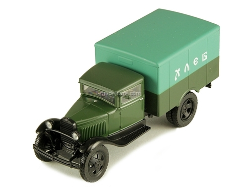 GAZ-AA Van Delivery Bread USSR 1:43 DeAgostini Service Vehicle #34