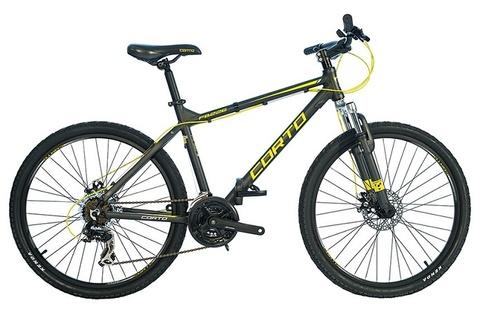 складной велосипед Corto FB226 серый