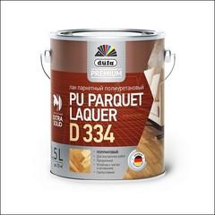 Лак полиуретановый для паркета Dufa PU Parquet Laquer D334 (Прозрачный)