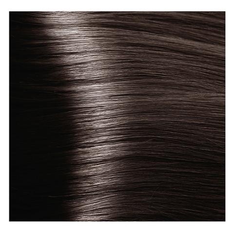 Крем краска для волос с гиалуроновой кислотой Kapous, 100 мл - HY 6.1 Темный блондин пепельный