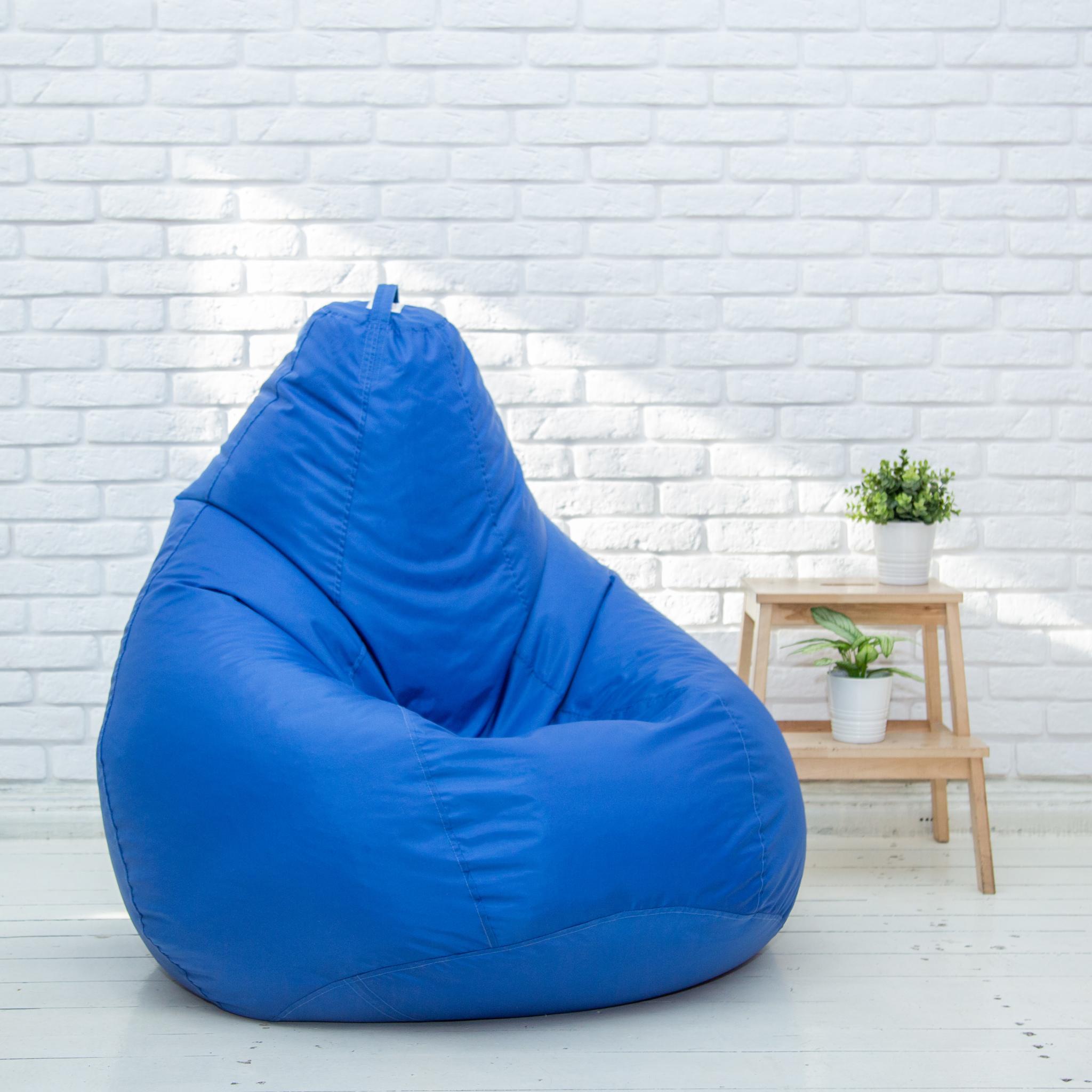 Груша XL плащёвка (синяя)