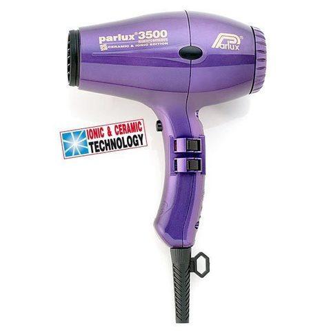 Профессиональный фен Parlux 3500 Compact 2000 Вт фиолетовый