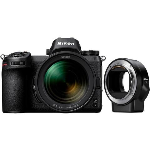 Фотоаппарат Nikon Z6 Kit 24-70/4 S + переходник FTZ