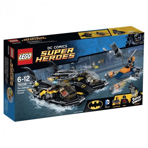 LEGO Super Heroes: Погоня в бухте на Бэткатере 76034 — Batboat Harbour Pursuit — Лего Супергерои ДиСи